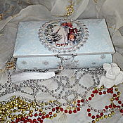 Для дома и интерьера handmade. Livemaster - original item Box the Winter`s tale 2. Handmade.