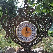 Для дома и интерьера ручной работы. Ярмарка Мастеров - ручная работа Настолные часы - ваза. Handmade.