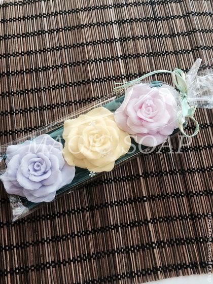 """Мыло ручной работы. Ярмарка Мастеров - ручная работа подарочный набор мыла """" Розовый букет"""". Handmade."""