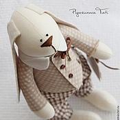 Куклы и игрушки ручной работы. Ярмарка Мастеров - ручная работа Заяц тильда  - мягкая игрушка. Handmade.