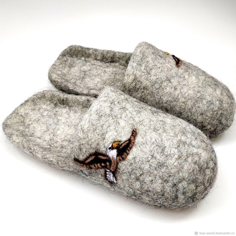 Лечебная обувь из натуральной овечьей шерсти тапочки