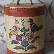Посуда handmade. Livemaster - original item Box of birch bark