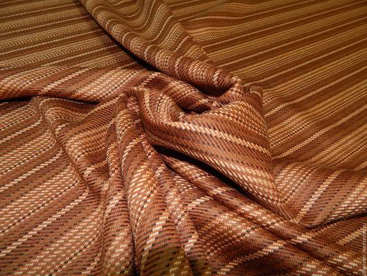 Шитье ручной работы. Ярмарка Мастеров - ручная работа. Купить Итальянская шерстяная ткань, Max Mara. Handmade. Комбинированный, пончо