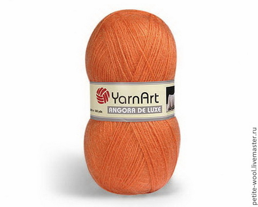 Вязание ручной работы. Ярмарка Мастеров - ручная работа. Купить Пряжа ANGORA DE LUX YarnArt  70% мохер. Handmade.