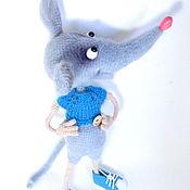 Куклы и игрушки handmade. Livemaster - original item The toy is knitted of interior rats. Handmade.