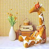 Куклы и игрушки ручной работы. Ярмарка Мастеров - ручная работа Тильда Жираф большой. Handmade.
