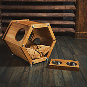 Для домашних животных, handmade. Livemaster - original item Duet of furniture for animals