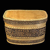 Для дома и интерьера handmade. Livemaster - original item Wooden cat Bears.Box for storage of bread, herbs, fruit. Handmade.