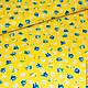 Шитье ручной работы. Американский хлопок МЕЛКИЕ РОЗОЧКИ на желтом и синем. ХЛОПОК из АМЕРИКИ от МОДНЫХ ВМЕСТЕ. Интернет-магазин Ярмарка Мастеров.