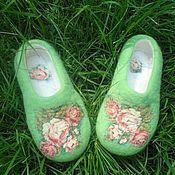 """Обувь ручной работы. Ярмарка Мастеров - ручная работа Тапотули """"Кадриль"""". Handmade."""