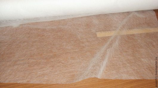 Шитье ручной работы. Ярмарка Мастеров - ручная работа. Купить Клеевая паутинка шир. 90 см.. Handmade. Белый