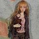 Коллекционные куклы ручной работы. Шарнирная кукла Соня. Юля Туранцева. Ярмарка Мастеров. Бжд, фимо