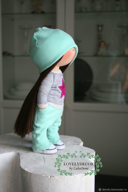 Кукла текстильная Куколка интерьерная, Куклы и пупсы, Тула,  Фото №1