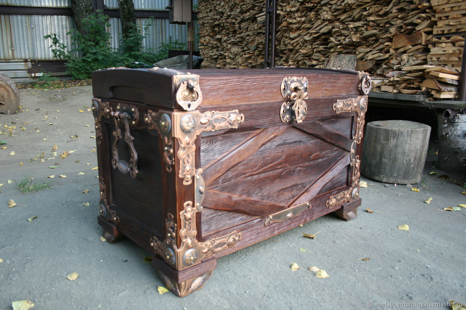 Wooden chest, Dressers, Pervouralsk,  Фото №1