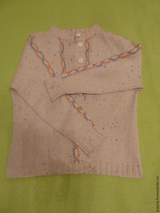 Кофты и свитера ручной работы. Ярмарка Мастеров - ручная работа. Купить Кофта в стиле кантри. Handmade. Разноцветный, реглан