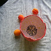 """Пиалы ручной работы. Ярмарка Мастеров - ручная работа Высокая пиала/ваза для конфет """"Тюльпан"""". Handmade."""