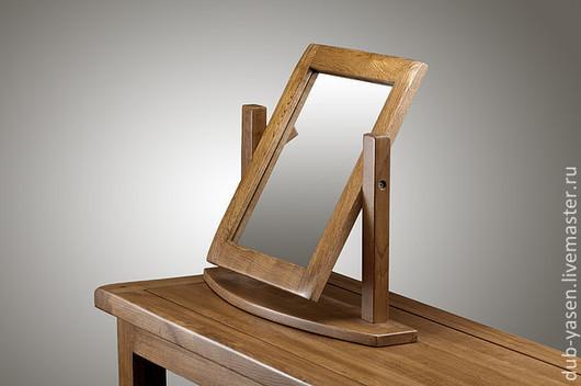 """Зеркала ручной работы. Ярмарка Мастеров - ручная работа. Купить Зеркало из дуба настольное """"Шале"""". Handmade. Зеркало, настольный"""