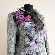 """Одежда ручной работы. Ярмарка Мастеров - ручная работа """"Плетистые розы"""" жакет. Handmade."""