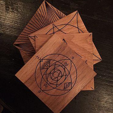 Посуда ручной работы. Ярмарка Мастеров - ручная работа Кружки: Подстаканники-бирдекели. Handmade.