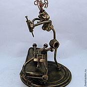 Модели ручной работы. Ярмарка Мастеров - ручная работа Медсестра и пациент. Handmade.
