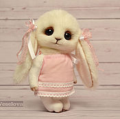Куклы и игрушки ручной работы. Ярмарка Мастеров - ручная работа Зайка Люси первоклашка. Handmade.