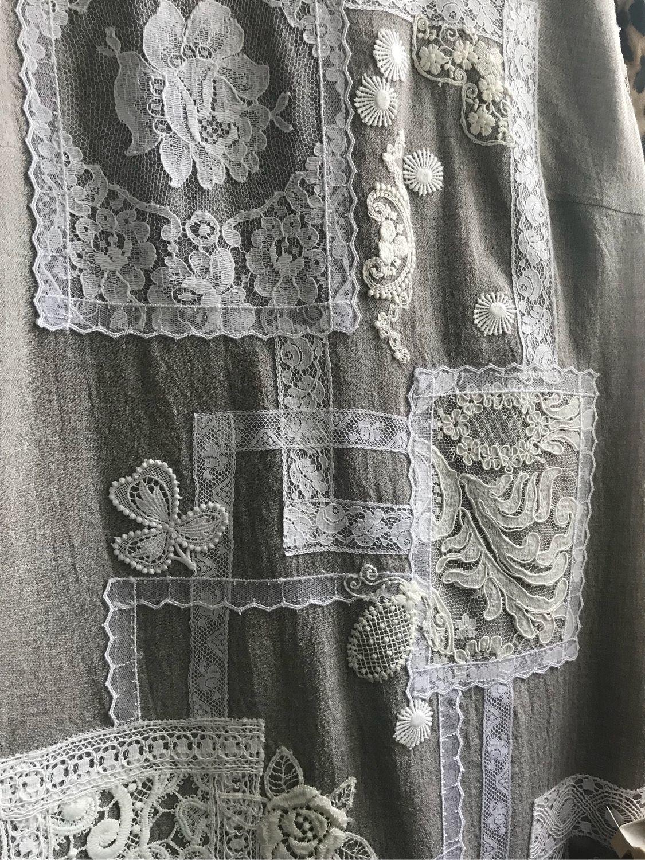 Платья ручной работы. Ярмарка Мастеров - ручная работа. Купить Платье 2570 Кружевной печворк #3. Handmade. Платье