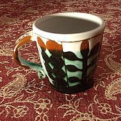 Посуда ручной работы. Ярмарка Мастеров - ручная работа Чашечка для кофе. Handmade.