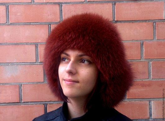 """Шапки ручной работы. Ярмарка Мастеров - ручная работа. Купить Женская меховая ушанка """"Зимушка"""", шапка из меха, зимняя шапочка. Handmade."""
