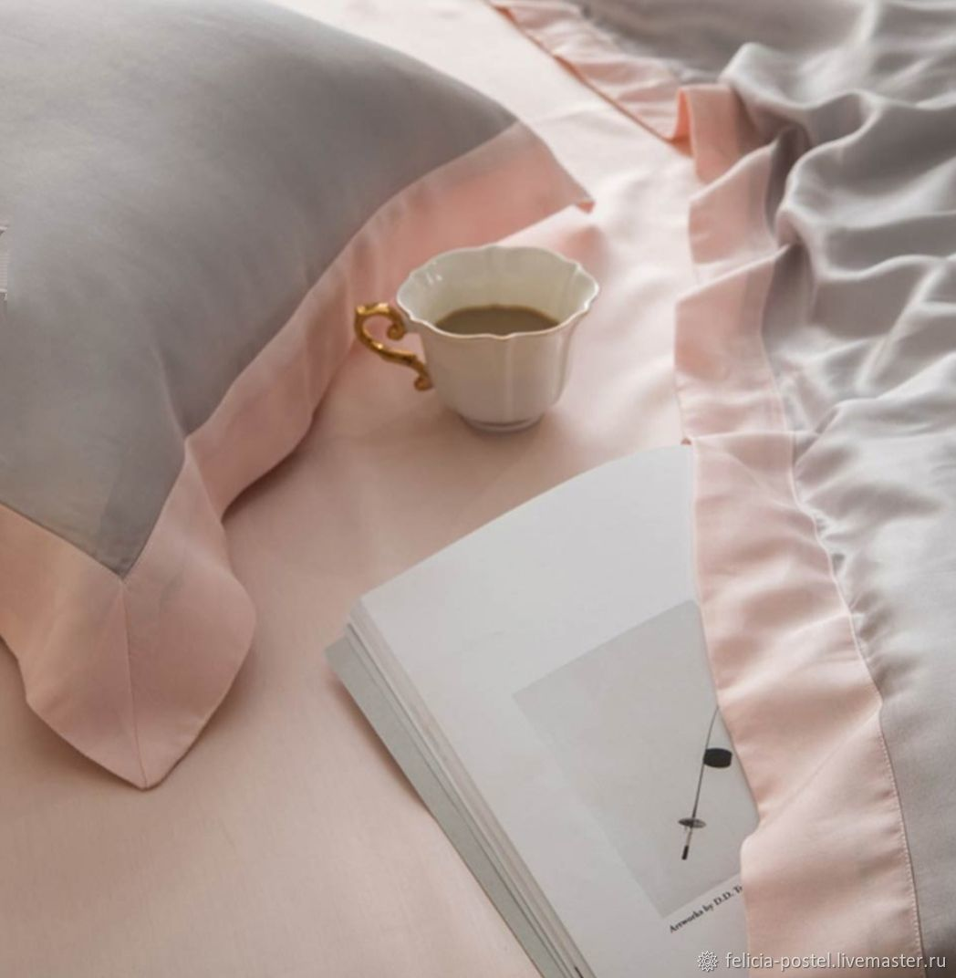 Bed linen 'Mulberry' - from 100% NAT.silks, Bedding sets, Cheboksary,  Фото №1