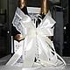 """Свадебные аксессуары ручной работы. Коллекция аксессуаров """"Юлианна"""", айвори. Мастерская 'Женимся'. Ярмарка Мастеров. Бокалы для молодоженов, Подвязка для невесты"""