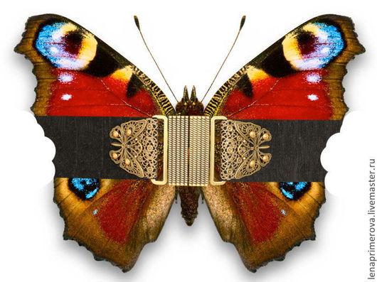 Пояса, ремни ручной работы. Ярмарка Мастеров - ручная работа. Купить пояс Бабочка11 Черный Бархатный, широкий, эластичный. Handmade.
