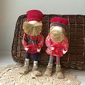 Куклы и игрушки ручной работы. Ярмарка Мастеров - ручная работа Спиридон-Солнцеворот  мужской оберег. Handmade.