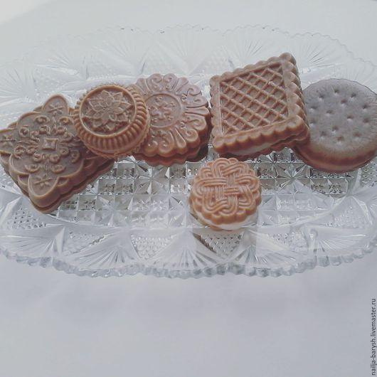 Мыло ручной работы. Ярмарка Мастеров - ручная работа. Купить Печенье.. Handmade. Комбинированный, сладости, мужчине, Праздник, пигменты минеральные