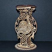 Вазы ручной работы. Ярмарка Мастеров - ручная работа Вазы: Ажурная ваза. Handmade.