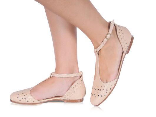 Обувь ручной работы. Ярмарка Мастеров - ручная работа. Купить Mozaic. Балетки женские кожаные для дома, офиса, прогулок. Handmade.