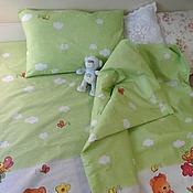 Для дома и интерьера ручной работы. Ярмарка Мастеров - ручная работа Детское постельное белье 100% хлопок. Handmade.