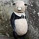 Мишки Тедди ручной работы. Ярмарка Мастеров - ручная работа. Купить Монохром. Handmade. Серый, мишка-тедди, опилки древесные