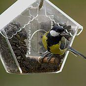 Для дома и интерьера handmade. Livemaster - original item Feeder for garden birds