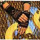Варежки, митенки, перчатки ручной работы. Ярмарка Мастеров - ручная работа. Купить Митенки кружевные и велюровые!! Роскошь и шик!. Handmade.
