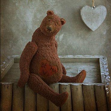 """Куклы и игрушки ручной работы. Ярмарка Мастеров - ручная работа """"Be my Valentine"""".Мишки тедди. Handmade."""