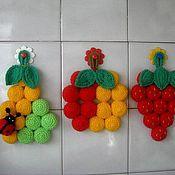 Для дома и интерьера ручной работы. Ярмарка Мастеров - ручная работа Груша,яблоко,клубника. Handmade.