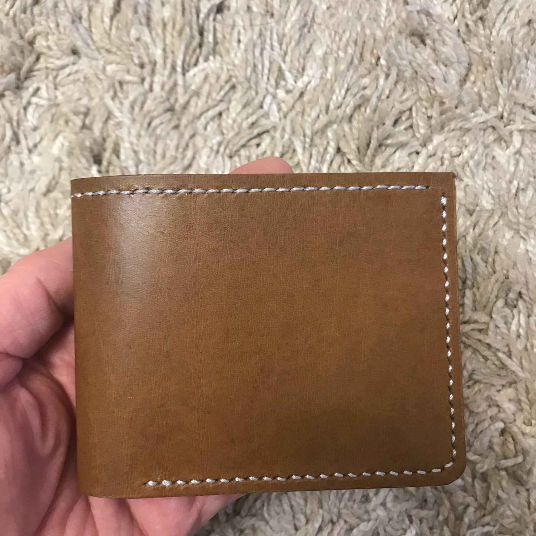 Кожаный кошелёк ручная работа, Кошельки, Ессентуки,  Фото №1