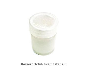 Пудра жемчужная для лепестков\r\nПудра для придания лепесткам природного жемчужного отлива.