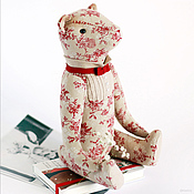 Куклы и игрушки ручной работы. Ярмарка Мастеров - ручная работа Мишка Парижанин.. Handmade.