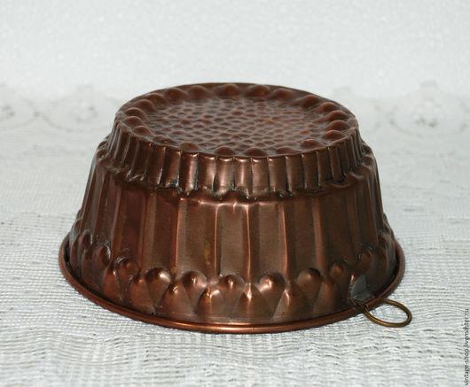 Винтажная посуда. Ярмарка Мастеров - ручная работа. Купить Медная форма для выпечки, кекс, винтаж, Германия. Handmade. Рыжий, форма