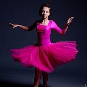 Одежда handmade. Livemaster - original item Basic dress for ballroom dance STRAWBERRY CANDY. Handmade.