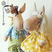 """Куклы и игрушки ручной работы. Ярмарка Мастеров - ручная работа Лошадки-коняшки  """"Мальчик и Девочка"""". Handmade."""