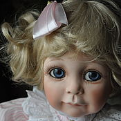 Винтаж handmade. Livemaster - original item Vintage dolls: Carly doll by Phyllis Parkins. Handmade.