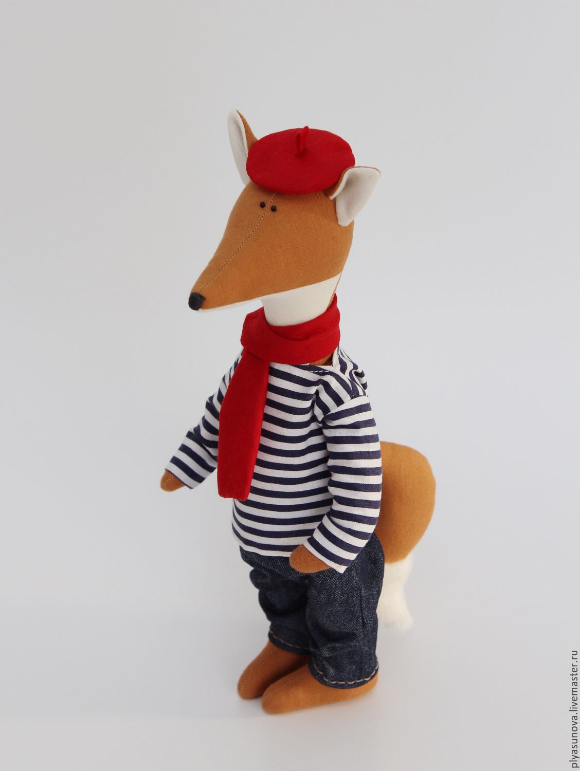 Lis Paris MIM - soft toy in the style of the tilde, Tilda Toys, Moscow,  Фото №1