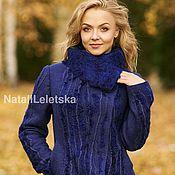 Одежда ручной работы. Ярмарка Мастеров - ручная работа Жакет Королевский синий-войлок. Handmade.
